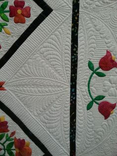 Beautiful traditional quilt