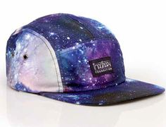 Cosmos All Over 5-Panel Hat by IMAGINARY FOUNDATION