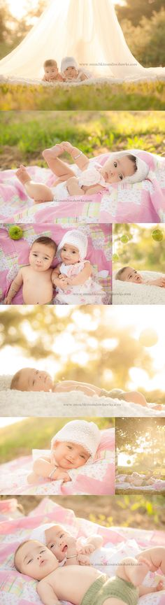 4 month outdoor photo shoot