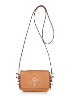 Mini bags are so easy for the summer--and this one packs a lot of detail into its little size.  Mulberry, $324