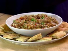 Get Roasted Eggplant Caponata Recipe from Food Network