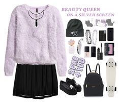 """Beauty queen"" by a-olga2000 ❤ liked on Polyvore featuring Alberta Ferretti, H&M, Henri Bendel, Topshop, Marc Jacobs and NARS Cosmetics"