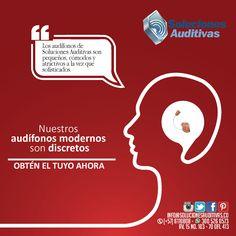 Audífonos discretos y sofisticados en Soluciones Auditivas. Recibe más información Tel: 6110808 Whatsapp: 300 5260573