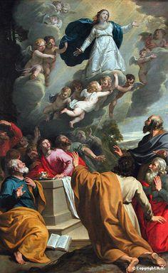 <b>Philippe de Champaigne</b> : <b>Assomption</b> : <b>Sainte Vierge</b> : L'Assomption de la Vierge