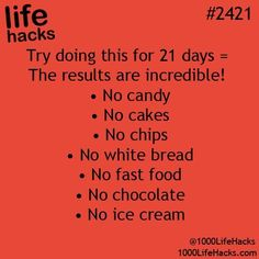 This is practically everything I eat. I'd die of starvation before the 21 days are done
