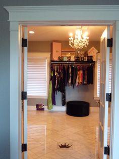 Madison's Bedroom Suite  Boutique style closet