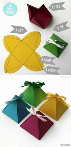 Diy gift packaging idea More