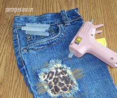 pattern for blue jean christmas stocking | Jeans Pencil Holder Craft for Teen School Lockers