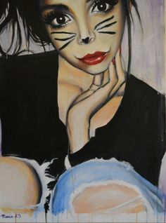 kitty cat, Maria Folger