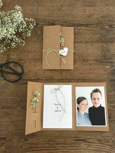 At lave sin egen bryllupsinvitation tager tid. Men resultatet er det hele værd.