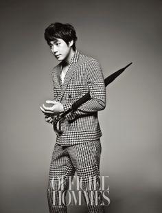 L'Officiel Hommes, 2012.05, Chun Jung Myung