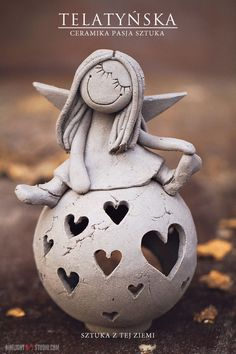 keramik tiere - Google-Suche Pottery Sculpture, Sculpture Clay, Polymer Clay Projects, Clay Crafts, Paper Clay, Clay Art, Ceramic Clay, Ceramic Pottery, Pottery Angels