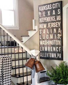 Personalized Industrial Wall Art - Name Sign - Custom Subway Sign - Personalized Wall Art - Industrial Wall Art - Modern Farmhouse Living Room Small Basement Remodel, Basement Remodeling, Basement Flooring, Industrial Wall Art, Industrial Design, Subway Art, Subway Signs, Personalized Wall Art, Personalized Gifts