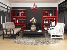 Asian inspired living rooms — 10