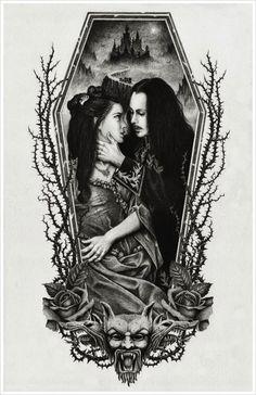 Vintage Vampire Tattoo By Craig Watts Craig5454
