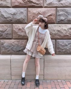 Pin by MoeZine on MoeZine in 2019 Pink Outfits, Edgy Outfits, Cute Outfits, Fashion Outfits, Kawaii Dress, Kawaii Clothes, Kawaii Fashion, Cute Fashion, Japanese Fashion