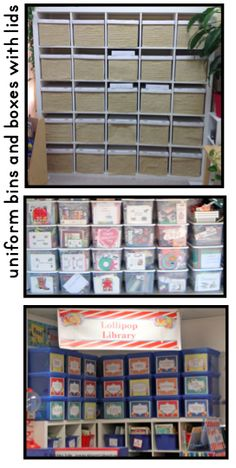 Clutter-Free Classroom: Storing Thematic Units in the Classroom {Organization Tips, Photos, Ideas}