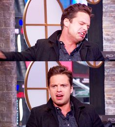 Words cannot describe how amazing this man is // his facial expressions complete my life