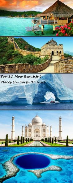Top 10 Most Beautiful Places On Earth To Visit  #travel #earth #beautiful-places #amazing
