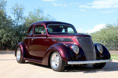 1937 Ford Custom Coupe..Re-pin brought to you by agents of #CarInsurance at #HouseofInsurance in Eugene97401