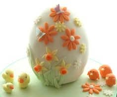 easter cake with chicks | by Jill The Cakemaker