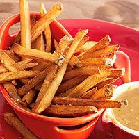 """Bistro-Style Pommes Frites (French Fries) Not """"Simply Filling"""", but a healthier way to prepare French fries. All You Need Is, Burger Sides, Healthy Snacks, Healthy Recipes, Snacks Recipes, Veg Recipes, Detox Recipes, Healthy Drinks, French Fries Recipe"""