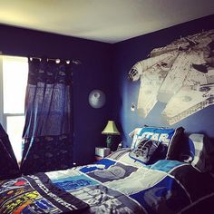 62 Best Star Wars Bedroom Ideas images in 2018 | Star wars bedroom ...