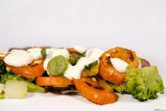 Grillezett sárgarépa saláta ~ Receptműves