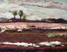 'Serenity', needle felting.  Amazing.  I don't know that I'd have the patience or talent for this, but I'm going to have to check out needle felting @Tess Vermeys, please make this for me:) haha