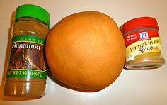 Fall Fun: Cinnamon Pumpkin Spice Play Dough