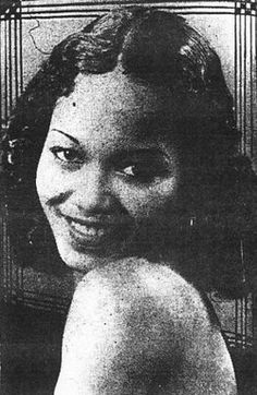 """Francine Everett (1915-1999) Actress/Singer who appeared in movies during the late 1930s to the end of the 1940s including, """"Paradise in Harlem"""" """"Tall,Tan and Terrific"""" """"Big Timers"""" & """"Dirty Gertie from Harlem USA."""" She also worked with Sidney Poitier in """"No Way Out"""", her final film in 1950."""