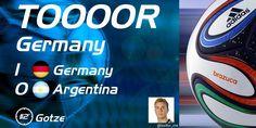 GER vs. ARG 1:0, goal Mario Goetze!