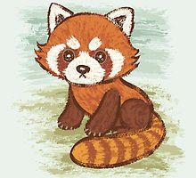 Panda Roux Facile A Dessiner