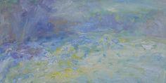 Heinrich Ilmari Rautio: Lake Haukivesi in April - Haukivesi huhtikuussa, 65x100 cm, oil on canvas, 2017