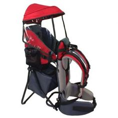 Baby Back Pack Cross Country Carrier Stand Child Kid Sun Shade Visor Shield Red - Crosslinks is excited to offer our brand new Backpack Child Carrier - made of strong but lightweight metal frame and oxford cloth, it can withstand the Baby Hiking Backpack, Toddler Backpack, Best Baby Carrier, Baby Changing Pad, Kids Backpacks, Baby Grows, Baby Car Seats, Sun Shade, Cross Country