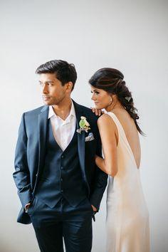 Romantic and Minimal Wedding Styling