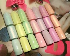 Nail Polish, Shops, Nail Art, Diva, Nails, Pastels, Beauty, Instagram, Sugar