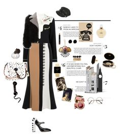 """""""RIING!!!"""" by mbarbosa ❤ liked on Polyvore featuring Coach, Coach 1941, David Koma, Dolce&Gabbana, Chanel, Edition, Bobbi Brown Cosmetics, Jaeger and Charlotte Russe"""