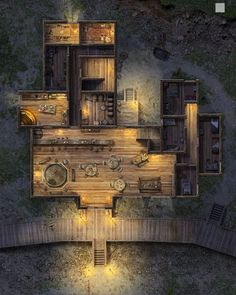 Apr 2020 - Maps to be used in Pathfinder or D&D games. See more ideas about Dungeons and dragons, Fantasy map and Dungeon maps. Dungeons And Dragons, Pathfinder Maps, Rpg Map, Building Map, Dungeon Maps, Fantasy Places, Fantasy City Map, Tabletop Rpg, Map Design