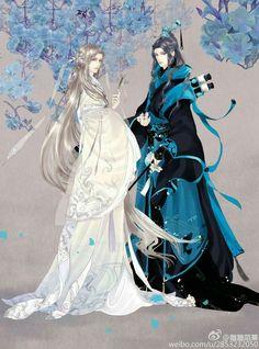 Феанор и Ольвэ - эльфы, мужья Себастьяна.