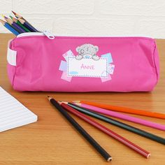 Personalised Me To You Girls Pencil Case From Something Personal
