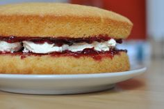 Victoria Sponge Cake fatta con il Bimby: LEGGI LA RICETTA ► http://www.ricette-bimby.com/2013/03/victoria-sponge-cake-ricetta-bimby.html