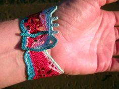 freeform crochet jewelry