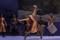 Federico Bonelli as Polixenes in The Winter's Tale, The Royal Ballet, © ROH / Johan Persson 2014