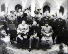 1945 - Konferenz von Jalta, Zeitgeschichte in bewegten Bildern - Historisches Filmarchiv, Clips, Footage, Produktion - history-vision.de