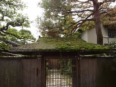 Old Gate in Kyoto, Japan.