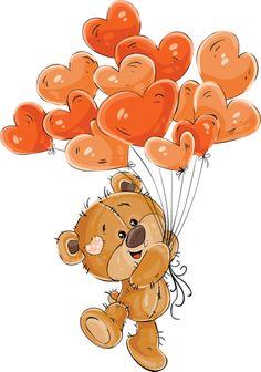 News - Claudette Fyvie - - News -. Image Clipart, Cute Clipart, Tatty Teddy, Cute Images, Cute Pictures, Valentine Cookies, Valentines, Decoration St Valentin, Image Zen