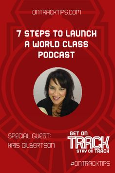 "Kris Gilbertson literally wrote the book on podcasting.  http://jtw.bz/KGHOA Anyone can use simple, inexpensive (or free) tools to create a podcast that will bring their business traffic, leads and sales.   That's why you need to meet her. And that's why she is the featured expert this week on ""Get on Track, Stay on Track"" - http://jtw.bz/KGHOA"