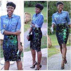 Denim Glitz!  Fashion Blogger Nifesimi of @skinnyhipster Blog  #fashionblogger #styleb... | Use Instagram online! Websta is the Best Instagram Web Viewer!   #fashionblogger #styleblogger #ootd #ootdmagazine #chictopia #lookbook #africanfashionbloggers #ankara #london #streetstyle #fbloggers #Nigerian #stylist #love #fashion #style
