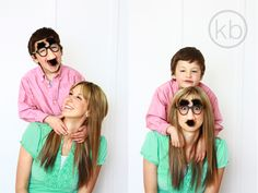 Mom and son picture kristi burton photography